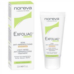 Noreva Exfoliac Тональный матирующий крем (светлый), крем для лица, 30 мл, 1 шт.