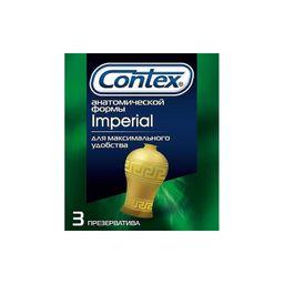 Презервативы Contex Imperial, презерватив, плотнооблегающие, 3 шт.
