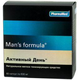 Man's formula Активный день, капсулы, 60шт.
