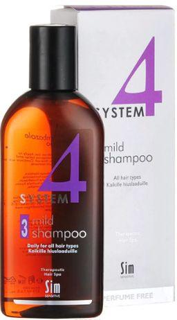 System 4 Терапевтический шампунь №3 для всех типов волос, шампунь, 215 мл, 1шт.