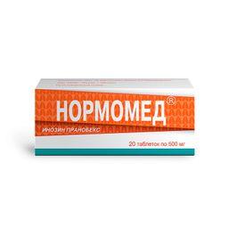 Нормомед, 500 мг, таблетки, 20 шт.