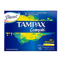 Tampax Compak regular тампоны с аппликатором, 16 шт.