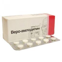 Веро-Амлодипин, 10 мг, таблетки, 30 шт.