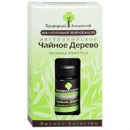 Масло эфирное Чайное дерево, масло эфирное, 5 мл, 1 шт.