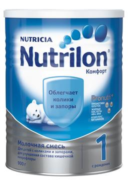 Nutrilon 1 Комфорт, смесь молочная сухая, 900 г, 1шт.