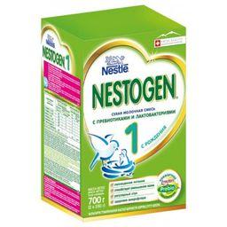 Nestogen 1, для детей с рождения, смесь молочная сухая, с пребиотиками и лактобактериями, 350 г, 2шт.