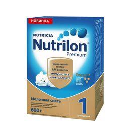 Nutrilon 1 Premium, смесь молочная сухая, 600 г, 1шт.