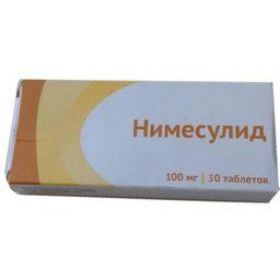 Нимесулид, 100 мг, таблетки, 30 шт.