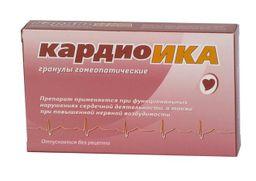 Кардиоика, гранулы гомеопатические, 10 г, 1 шт.
