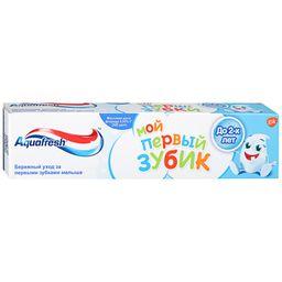 Aquafresh Зубная паста Мой первый зубик до 2 лет