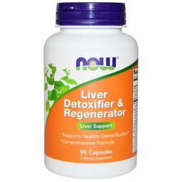 NOW Liver Detoxifier and Regenerator, капсулы, 90шт.