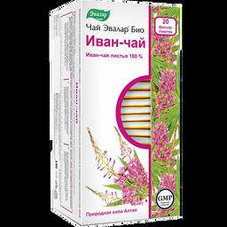 Чай Эвалар Био Иван-чай, фиточай, 1.5 г, 20 шт.