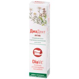 ДиаДент Актив зубная паста, паста зубная, 50 мл, 1шт.