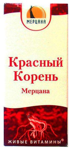 Красный корень Мерцана
