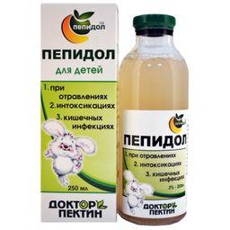 Пепидол Пэг для детей, 3%, раствор для приема внутрь, 250 мл, 1 шт.