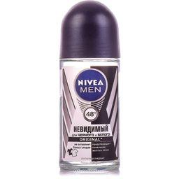 Nivea Men Антиперспирант шариковый Невидимый для черного и белого, 50 мл, 1шт.