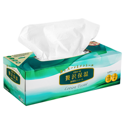 Elleair Lotion Tissue Herbs Салфетки бумажные, 160 шт.