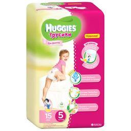 Huggies Подгузники-трусики детские, 13-17 кг, р. 5, 15 шт.