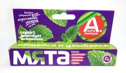 Антиполицай спрей для полости рта Мята, спрей для местного применения, 10 мл, 1 шт.