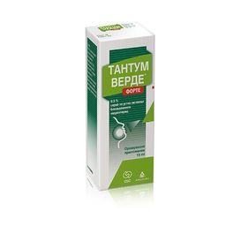Тантум Верде форте, 0.51 мг/доза, спрей для местного применения дозированный, 15 мл, 1шт.