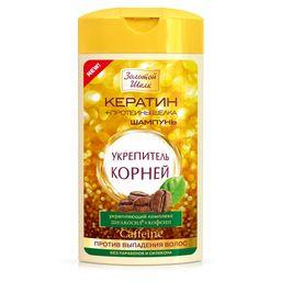 Золотой шелк Шампунь-укрепитель корней Против выпадения, шампунь, 250 мл, 1шт.
