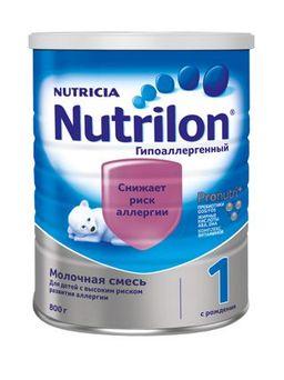 Nutrilon 1 Гипоаллергенный, смесь молочная сухая, 800 г, 1шт.