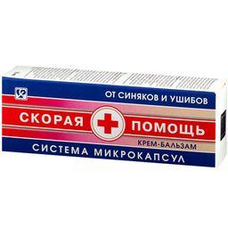 Скорая помощь крем-бальзам от синяков и ушибов, крем-бальзам, 75 мл, 1 шт.