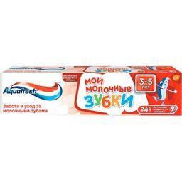 Aquafresh Мои молочные зубки Зубная паста от 3 до 5 лет