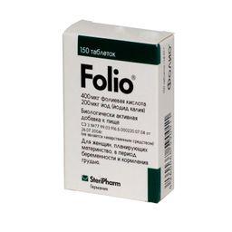 Фолио, 95 мг, таблетки, 150 шт.