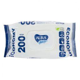 Aura Family салфетки для всей семьи влажные с крышкой