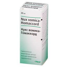 Нукс вомика-Гомаккорд, капли для приема внутрь гомеопатические, 30 мл, 1 шт.