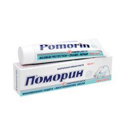 Pomorin Максимальная защита Зубная паста, паста зубная, 100 мл, 1шт.