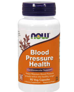 NOW Blood Pressure Health, капсулы, 90 шт.