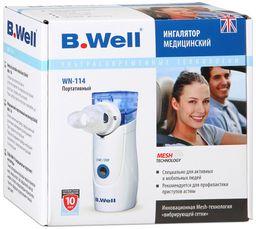 Ингалятор портативный B.Well WN-114 Adult, для взрослых, 1 шт.