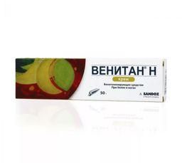 Венитан Н, 5%, крем для наружного применения, 50 г, 1 шт.