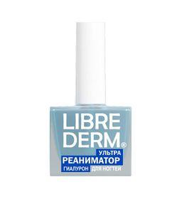 Librederm Лак 3 в 1 Ультрареаниматор гиалурон, лак для ногтей, 10 мл, 1 шт.