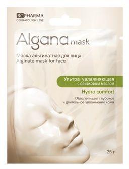 Algana Маска для лица альгинатная ультра-увлажняющая, маска для лица, 25 г, 1шт.