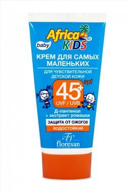 Floresan Africa Kids крем для самых маленьких солнцезащитный SPF 45+