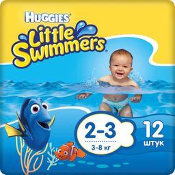 Huggies Подгузники-трусики для плавания, р. 2-3, 3-8 кг, 12шт.