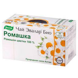 Чай Эвалар Био Ромашка, фиточай, 1.5 г, 20 шт.