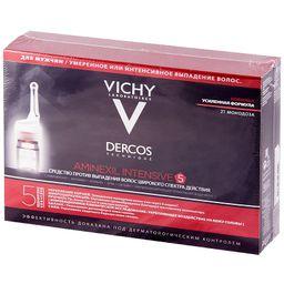 Vichy Dercos Aminexil средство против выпадения волос для мужчин