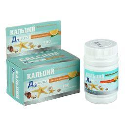 Кальций Д3 Ультра Апельсин, 500 мг, таблетки, 100 шт.