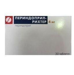Периндоприл-Рихтер, 4 мг, таблетки, 30 шт.