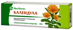 Календула (мазь гомеопатическая), мазь для наружного применения гомеопатическая, 30 г, 1 шт.