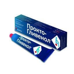 Прокто-Гливенол, крем ректальный, 30 г, 1 шт.