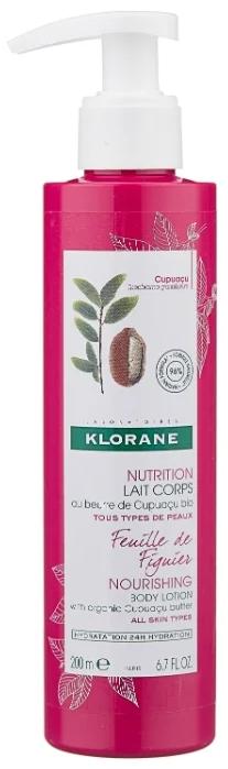 Klorane молочко для тела нежный инжир, молочко для тела, 200 мл, 1 шт.