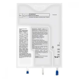 СмофКабивен центральный, эмульсия для инфузий, 986 мл, 4 шт.