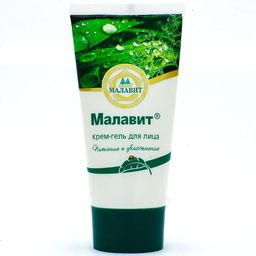 Малавит крем-гель для лица, крем-гель, 50 мл, 1 шт.
