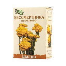 Бессмертника песчаного цветки, сырье растительное измельченное, 50 г, 1шт.