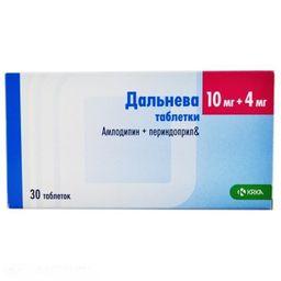 Дальнева, 10 мг+4 мг, таблетки, 30 шт.